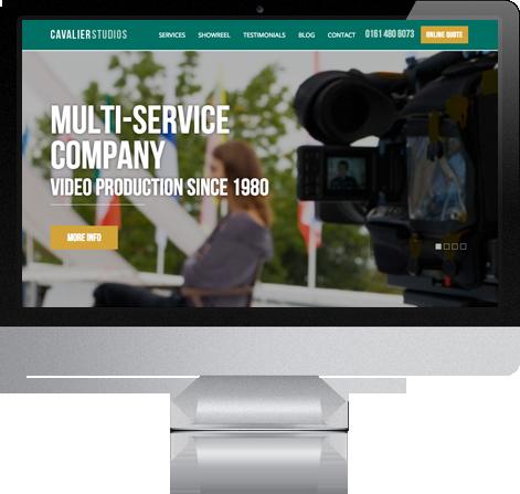 Cavalier Studios Responsive Web Design